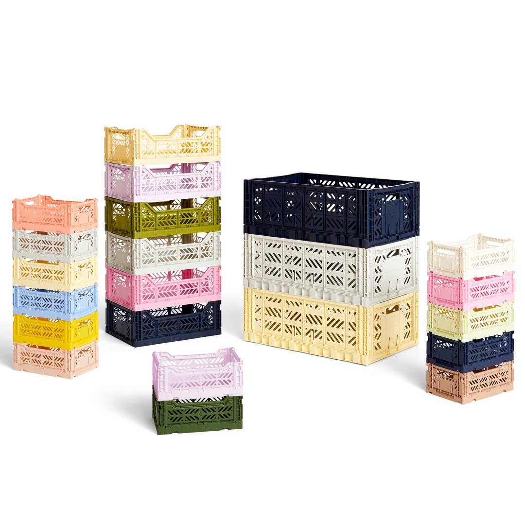 Hay Plastikkasser Til Opbevaring Hele Colour Crate Serien